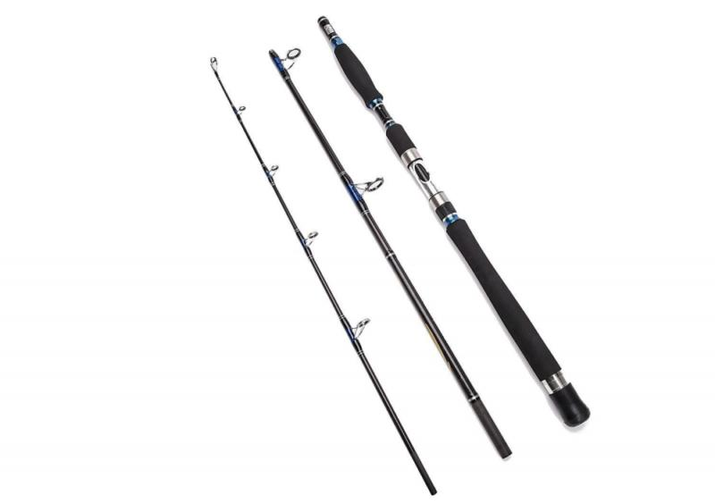 6' Spinning Fishing Pole Graphite Heavy Saltwater
