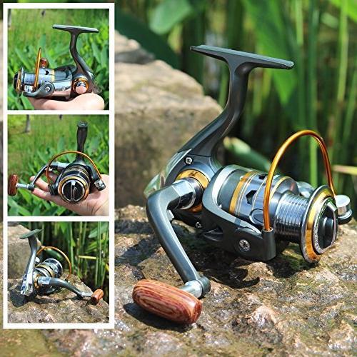 Sougayilang Spinning Interchangeable Handle 1000-4000 Fishing
