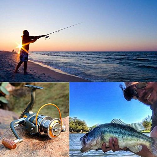 Sougayilang Spinning Handle 11bb Fishing Reels
