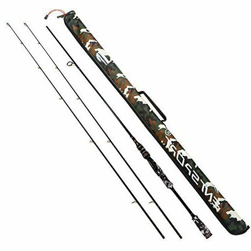 spinning rod graphite portable