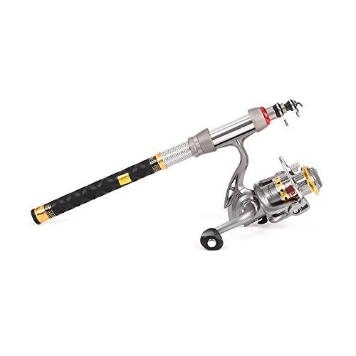 spinning rod reel combos carbon