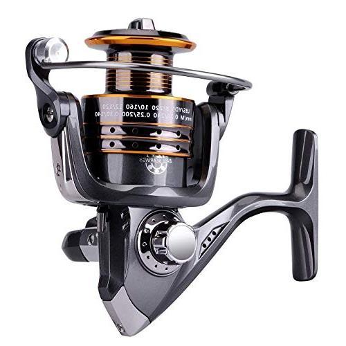 PLUSINNO Telescopic Fishing Rod Reel Full Spinning Fishing Gear Organizer Hooks