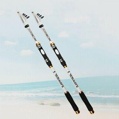 2.7-3.6M Carbon Fishing Rod High Saltwater Telescopic Stick