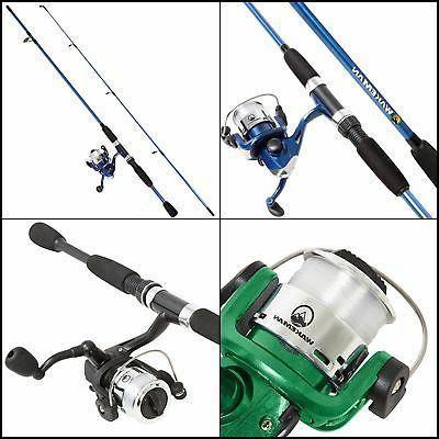 swarm series spinning rod and reel combo