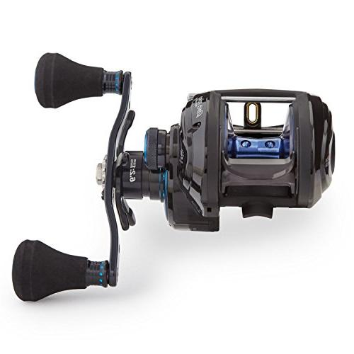 Abu Garcia BST60-HS Toro Beast Low-Profile Reel, 60 - Blue,Black