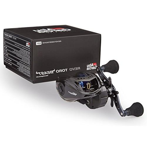 Abu REVO BST60-HS Revo Toro Low-Profile Baitcast Fishing Reel, 60 - Right-Handed,