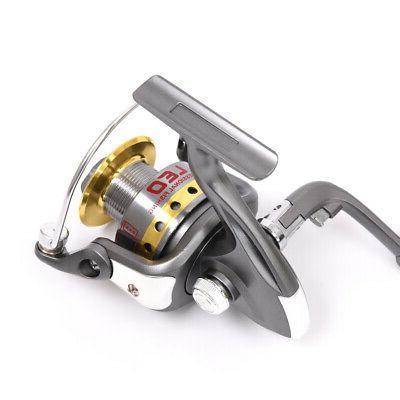 Lixada Fishing and Reel Combo Full Kit Reel