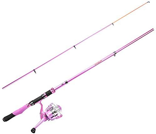 PLUSINNO Telescopic Rod and Fishing Pink for Fishing Pole