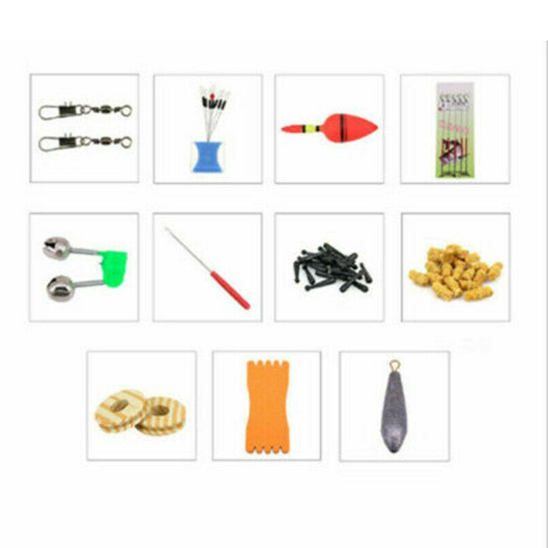 Telescopic Rod Line Spinning Reel Set