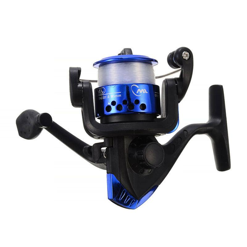 Telescopic Rod Line Full Spinning Reel Set