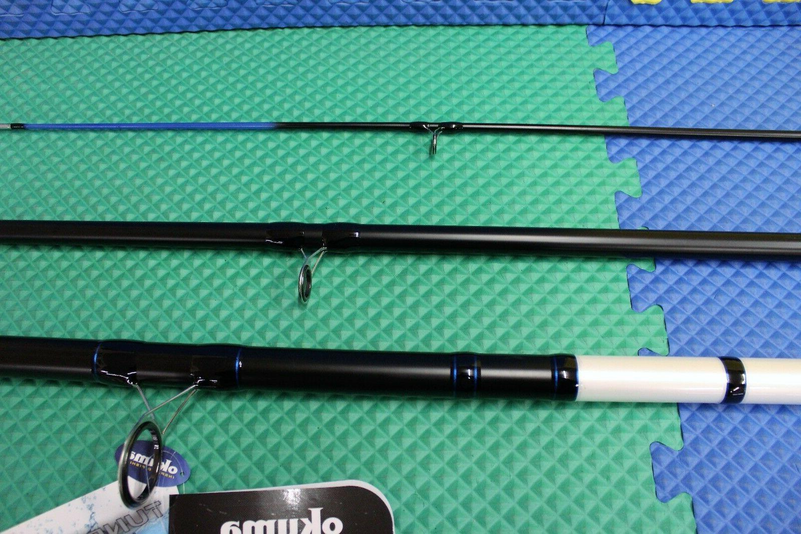 "Okuma Tundra Rod 0"" 3Pc Medium Heavy Spinning TXP-S-1503MH"