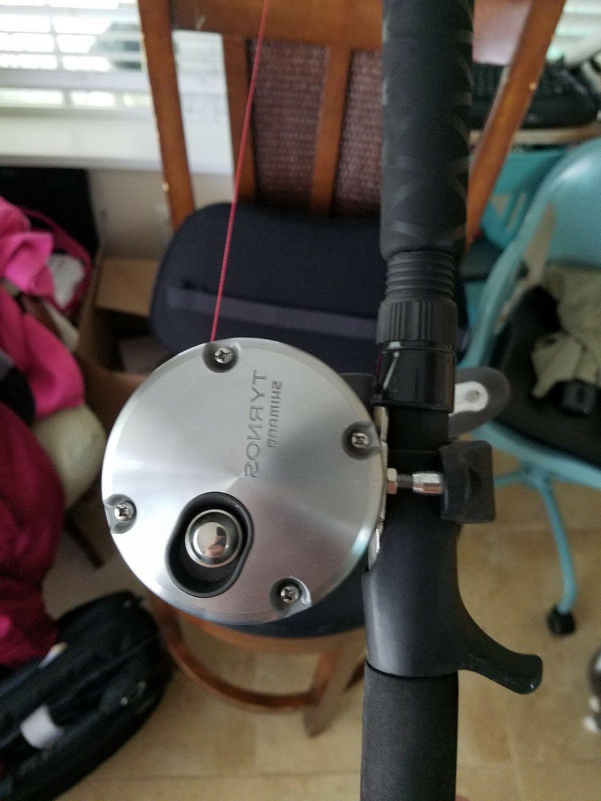 Shimano TYR16II Speed Lever Drag Reel Combo Trevall Rod