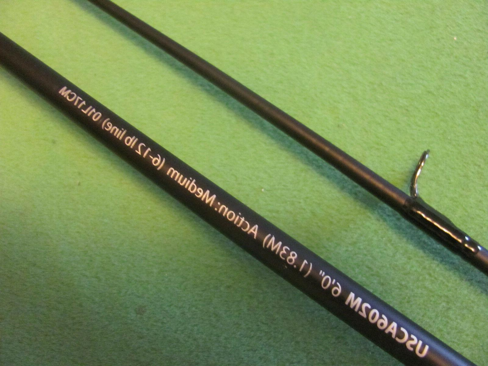 SHAKESPEARE UGLY STIK GX2 6' CASTING & COMBO NEW!.