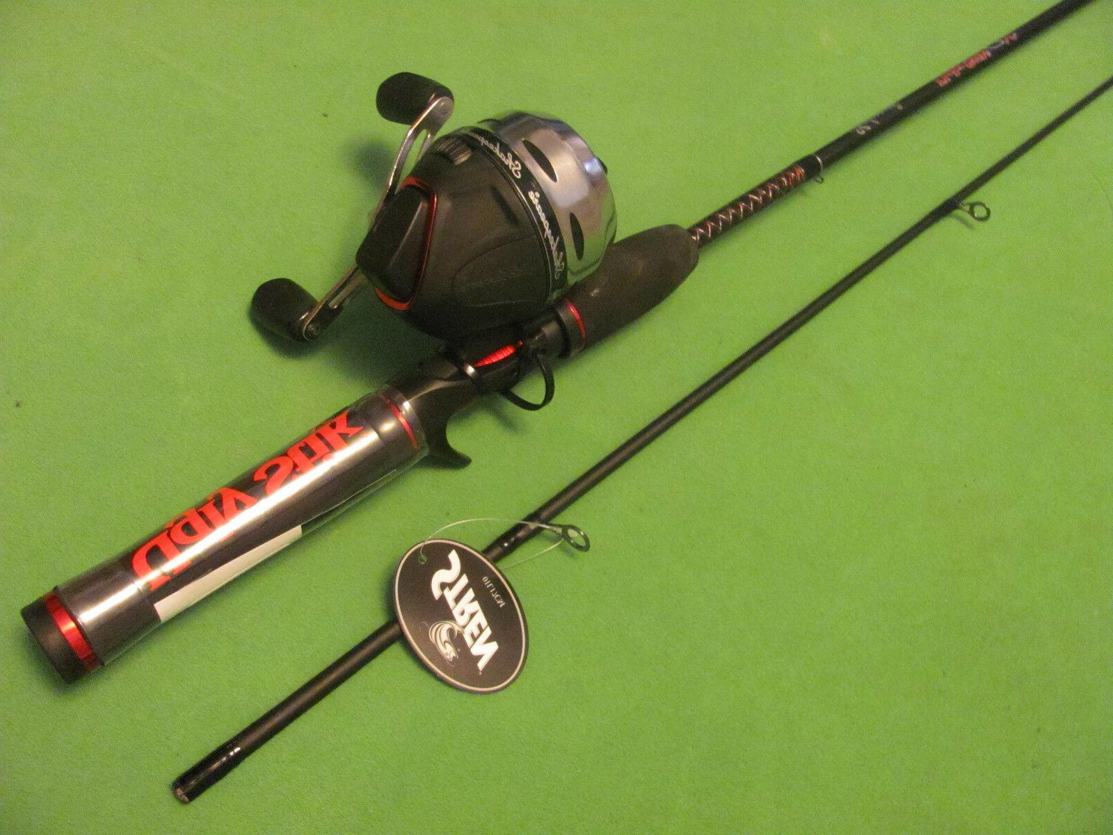 """SHAKESPEARE UGLY 6' 0"""" CASTING ROD COMBO"""
