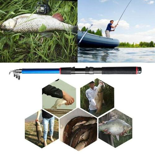 US! Carbon Fishing Rod Spinning Telescopic