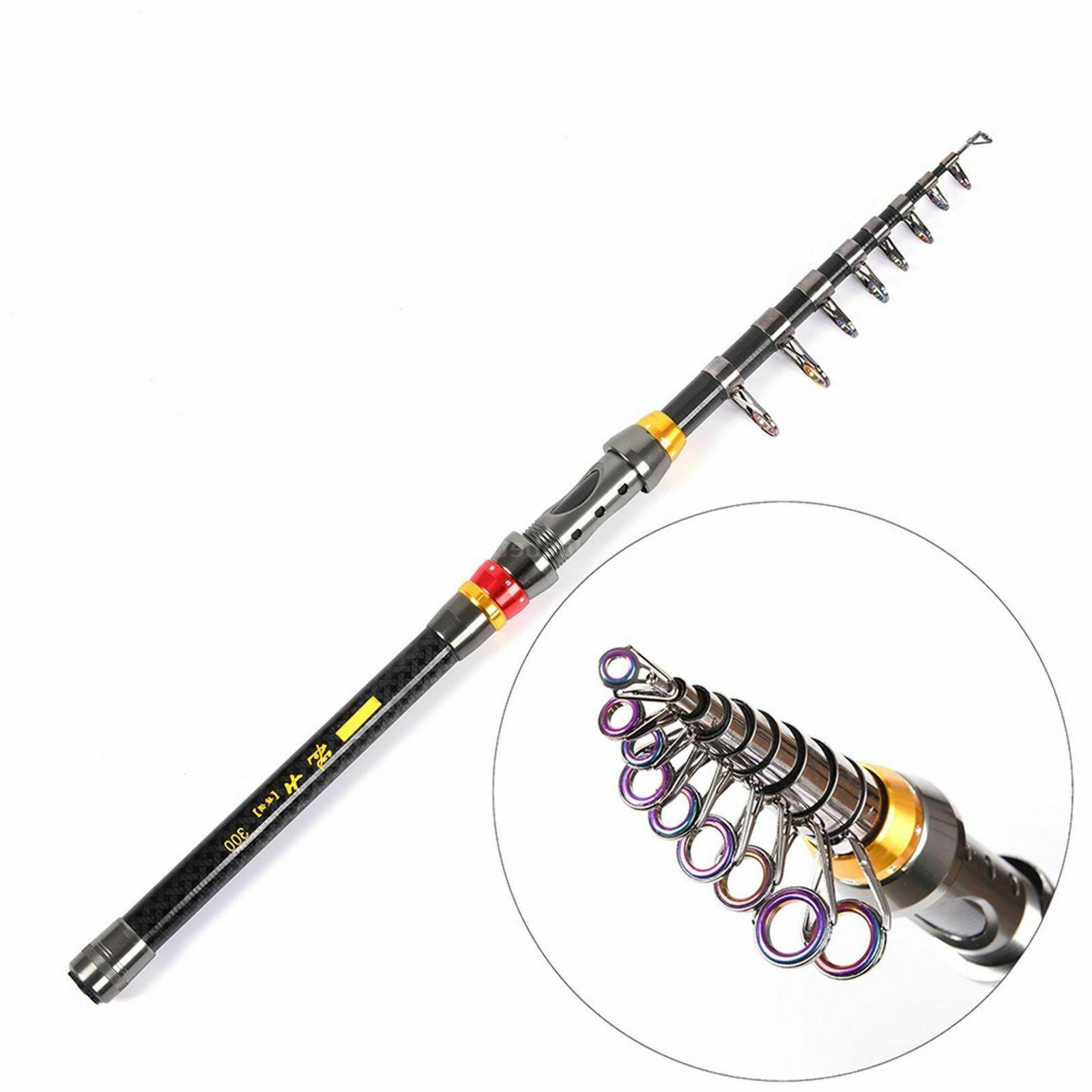 US Fiber Rod Pole Spinning Tackle P1A6