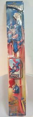 Vintage Superman Fishing Pole for Kids Shakespeare Spin Rod