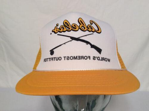 vtg cabela s snapback hat outdoors cap