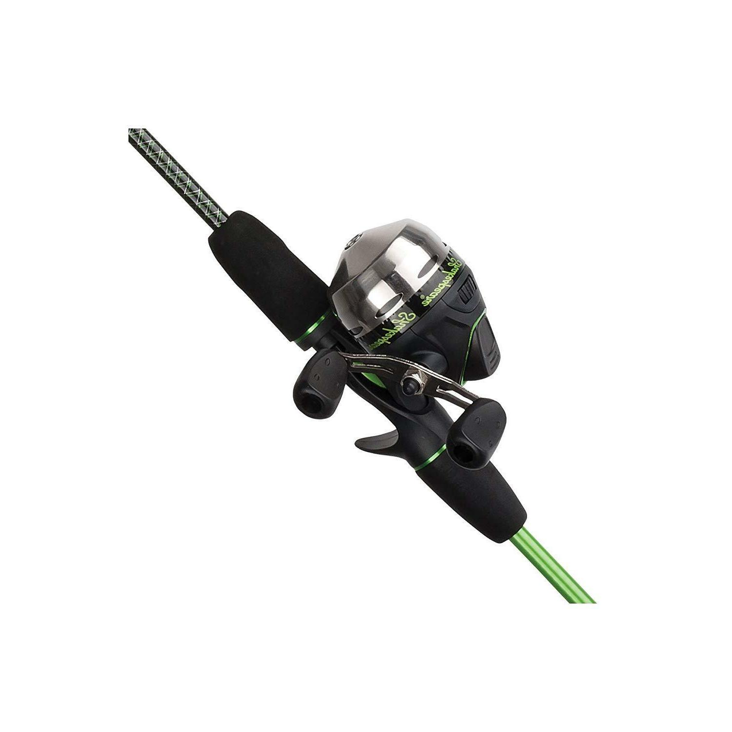 youth fishing rod and reel spincast beginners