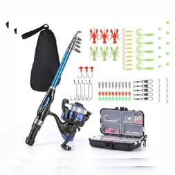 Leo Light Weight Kids 13ocm Rod and Reel Combos With Full Ki