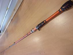 BERKLEY LIGHTNING ROD 6 foot 6 inch CASTING ROD  model# BCSH