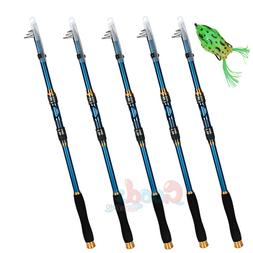 Lots Carbon Fiber Ultralight Telescopic Fishing Rod All Fres
