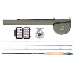 M MAXIMUMCATCH Maxcatch Extreme Fly Fishing Rod Combo Kit 3w