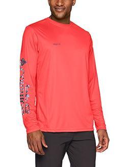 Columbia Men's Terminal Tackle PFG Sleeve Long Sleeve Shirt,