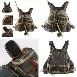 Lowpricenice Mesh Fly Fishing Vest