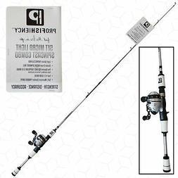 ProFISHiency Micro Fishing Rod and Reel Combo | Spinning & S