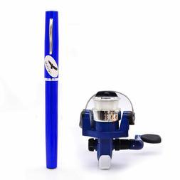 Freehawk® Mini Carbon Fiber Telescopic Pen Fishing Rod Pock