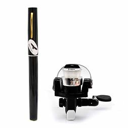 PiscatorZone Mini Pocket Pen Fishing Rod Set Carbon Fiber Te