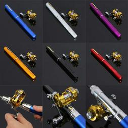 Mini Portable Pocket Fish Pen Shape Aluminum Alloy Fishing R