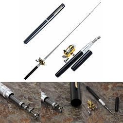 Mini Portable Pocket-size Fish Pen Aluminum Alloy Fishing Ro