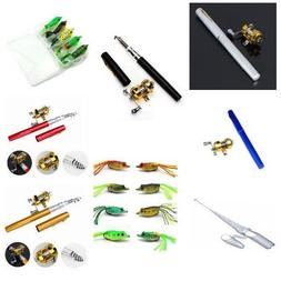 Mini Portable Remote Handle Pocket Fishing Tackle Pocket Pen