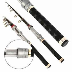 Mini Telescopic Fishing Rod Saltwater Travel Spinning Fish R