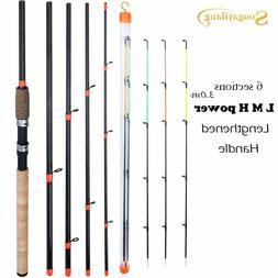 Sougayilang New Feeder Fishing Rod Lengthened Handle6 Sectio
