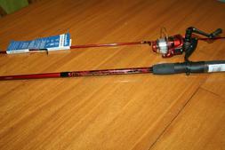 NEW SHAKESPEARE NAVIGATOR FISHING ROD POLE & REEL 6FT