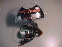 NEW ZEBCO QUICK CAST SIZE 10  SPIINING REEL TRIGGER SPIN FOR