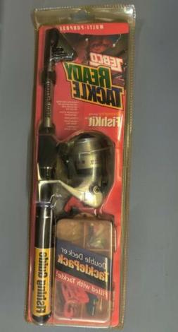 NEW Zebco Ready Tackle Series TELESCOPING FISHKIT SPINNING R