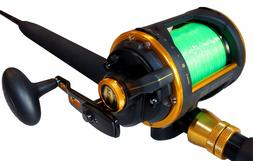 New Penn Squall 60 LD Prelined Rod and Reel Combo