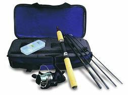 Okuma Voyager Spinning Rod Fishing Travel Kit Compact Case F