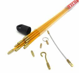Old Timer Tools 33', 3/16 Fiberglass Wire Puller/Running K