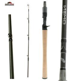 13 Fishing Omen Black 2 MH Casting Rod, 7'1