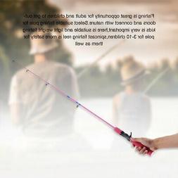 Outdoor Color Fishing Rod 1.2 M Gun Handle Ice Fishing Rod W