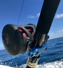 penn reel clamp squall senator cnc anodized