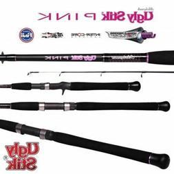 Ugly Stik PINK Baitcaster Fishing Rod - 5'6' 4-8 kg 1 Piece