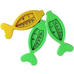 1 Pcs Plastic Fish Float Floating Toy Baby Bath Tub Water Se