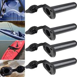 Multi Outools Plastic Flush Mount Fishing Boat Rod Holder wi