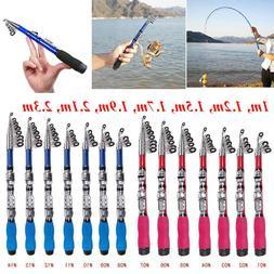 portable carbon fiber superhard travel telescopic fishing